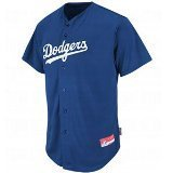 Los Angeles Dodgers MLB COOL BASE Full Button Major League