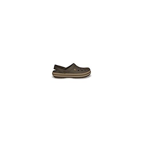 Crocs Schuhe Crocband 11016 38-39 Espresso/Khaki Einfache Geist Schuhe Für Frauen