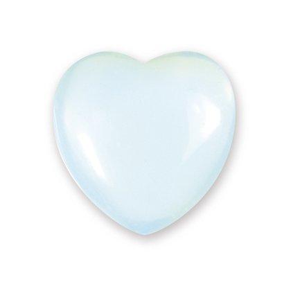 opalite mini Crystal Heart-2.5cm