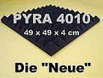360PLACAS DE ESPUMA ACUSTICA LA NUEVA  ANTRACITA NEGRO  APROX  90M²  PYRAMIDE ESPUMA  ESPUMA CORRUGADA
