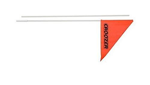 Wimpel für Kinderanhänger Croozer für Croozer ab 2010 Kid for 1+2/Plus, orange (1 Stück)