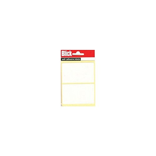 Blick Label Bag 50x80mm White Pack of 14 RS000457