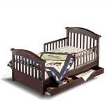 Sorelle Joel Toddler Bed, Espresso