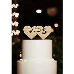 Personalisierte Initiale Tortenaufsatz Monogramm Tortenaufsatz Herz Kuchen Topper Personalisierte Rustikal Kuchen Topper Für Hochzeiten
