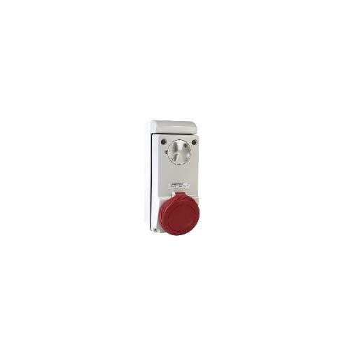 Schneider Electric 83299sockelbereich der Uni Ver. SAILLIE 32A Nasenstecker 38, weiß
