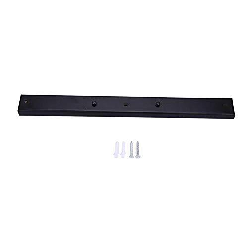 Suspension Lustre Plafonnier Chandelier Support de Plaque Base de Montage Forme Rectangulaire Accessoires de Lampe(Noir)