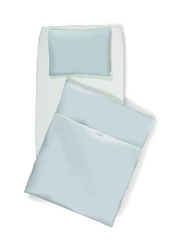 Brevi 858-001 nanna oh fianco letto, set con 4 pezzi, grigio bianconiglio