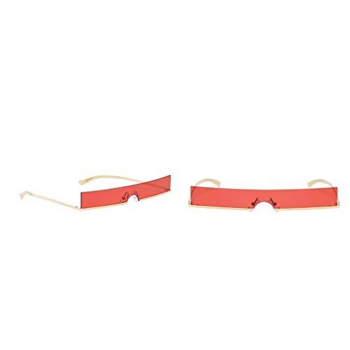 Sharplace 2 Stück Randlose Sonnenbrille Shades Brille für Strand, Outdoor, Fotografieren