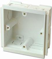 1 GANG BACK BOX - 35MM VTS/6035 WHI By MK (ELECTRIC) -