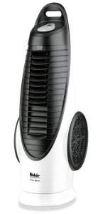 Fakir TVL 90 S / Turmventilator mit Fernbedienung, oszillierend, 3 Geschwindigkeitsstufen, Ventilator mit Timer, sehr leistungsstark, LED-Display - 90 Watt