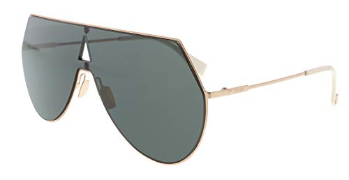 7f1cf2f4a1722 Fendi FF0193 S 0DDB Gold Copper Aviator Sunglasses