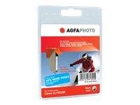 Preisvergleich Produktbild AgfaPhoto Tintenpatrone photo schwarz kompatibel zu PGI-521BK geeignet für Pixma MP980/540/620/630