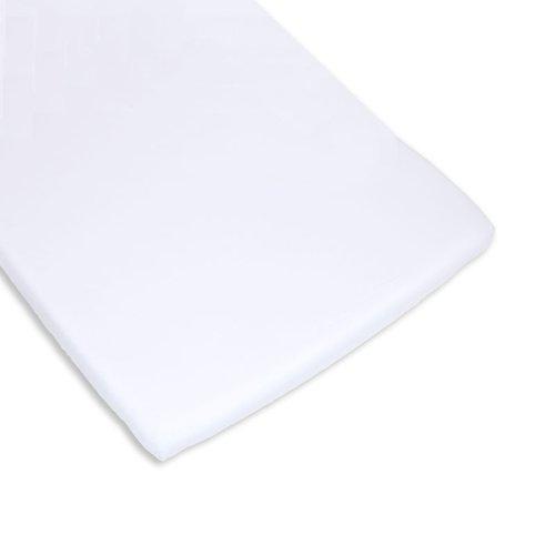 BOLIN BOLON 1623803019200 - Coprimaterasso per culla, 100% cotone, colore: Bianco