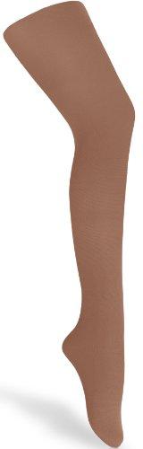 Merry Style Kinder Strumpfhose für Mädchen Microfaser 60 DEN (Beige-90, 128-134)