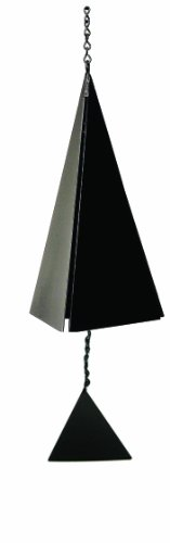 North Country Wind Glocken Nantucket Bell bādgir mit Schwarz Triangle -