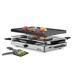 Spring Raclette mit Alugrillplatte-KP3267310001 Raclette mit Alugrillplatte schwarz one size