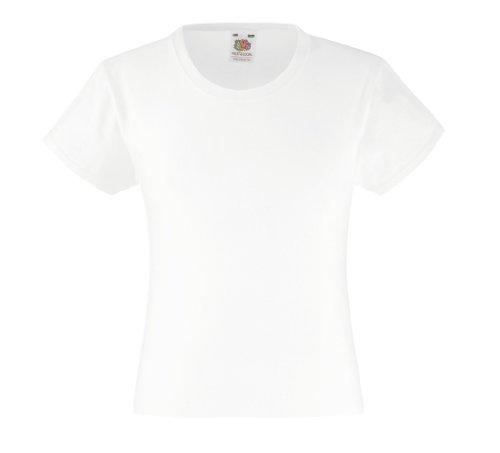 T-Shirt 'Girls Value Weight T', Farbe:White;Größe:140 cm 140cm,White