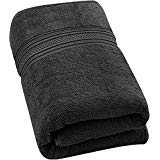Utopia Towels - Serviettes de Bain, Drap de Bain en 100% Coton, 700GSM - 89 x 178 cm (Gris)