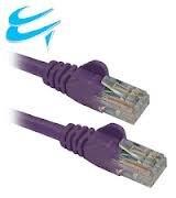 Cables UK Netzwerk-Zubehör cat 6, cat - 6, UTP, PVC, verseilt, 305 m, 305 m, 305 m) Violett