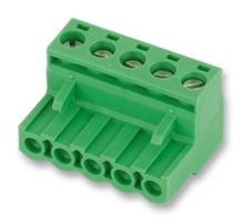 TERMINAL BLOCK, PLUGGABLE, 4POS, 12AWG 1757035 By PHOENIX CONTACT -