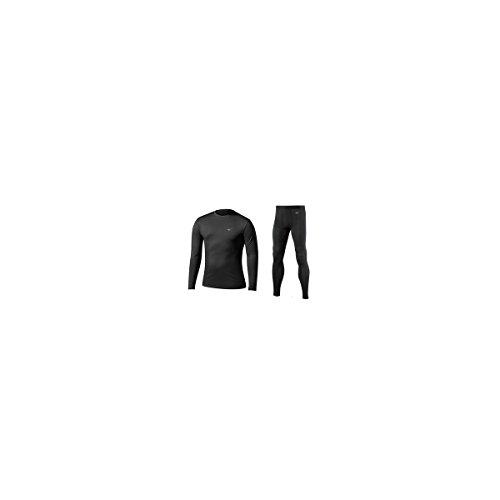 MIZUNO Unterwäsche Technische Jr Midweight H + B Black Gr. S, schwarz | 05051686889439