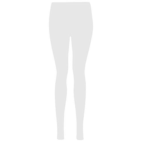 LessThanTenQuid Damen Leggings Weiß