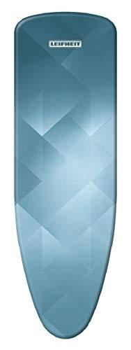 Leifheit Bügeltischbezug Heat Reflect Universal, für Bügelflächen bis max. 140 x 45 cm, mit eingebauter Hitzereflektion zum schnelleren Bügeln, mit elastischem Gummizug