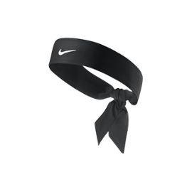 Nike Dri-Fit Head Tie 2.0 Haarbänder, Black/White, One Size (Tennis Headband)