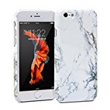 "GMYLE iPhone 6 custodia case cover Ultra Sottile per Apple iPhone 6 4.7"" [Marmo Bianco]"