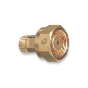 Western Enterprises Brass Cylinder Adaptors - adaptor cga-520-200 by Western Enterprises
