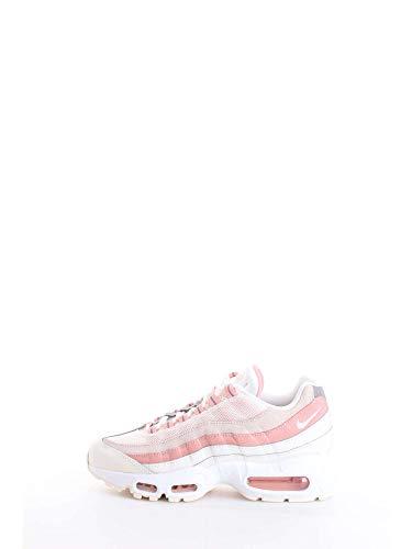 Nike Wmns Air Max 95, Scarpe da Ginnastica Donna, Multicolore (Sail/White/Bleached Coral 116), 36.5 EU
