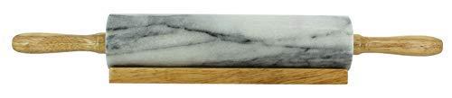 Rolle a Gebäck aus Marmor und Sockel aus Holz OGO