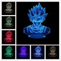 Dragon Ball Lampada Led 3D