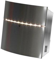 Briefkasten mit LED-Beleuchtung