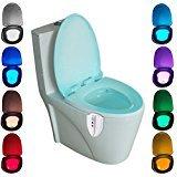 Zantec Bewegungsaktivierte UV Sterilisations Eigenschaften Toiletten Licht innere Toilette / Toilette Nachtlicht LED Licht Toiletten Toiletten Badezimmer Lampe für irgendeine Toilette 8 Farben