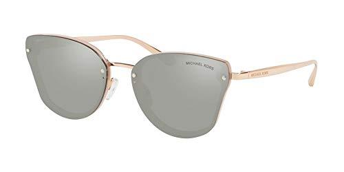 Michael Kors Damen 0MK2068 Sonnenbrille, Milky Pink/Silvermirror, 58