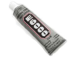 E-6000 Clear Industrial Strength Adhesive Glue 3.7 Ounce by Eclectic E6000