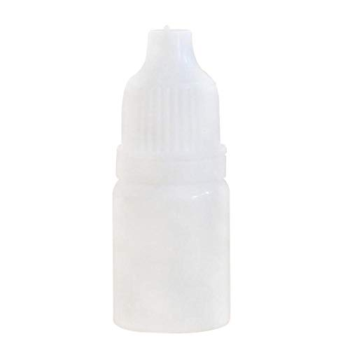 Timmershabi Empty Plastic Leerflasche Squeezable Liquid Dropper Mix Farbe Filling Bottles (15ml 30 packs)