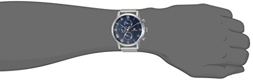 Tommy Hilfiger Men's 'SOPHISTICATED SPORT' Quartz Stainless Steel Casual Watch, Color Silver-Toned (Model: 1791398)