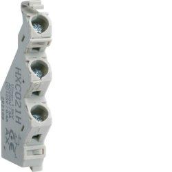 HAGER H250-H1600 - CONTACTO AUXILIAR PARA INTERRUPTOR H250-H    1NA+1NC