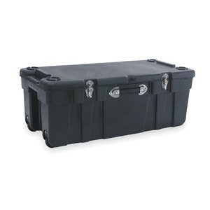 Mobile Trunk (Large Mobile Storage Trunk, W 17 1/2, Blk by J Terence Thompson)