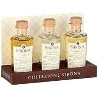 Box Collezione -Sibona- Mix 3 Grappe 20 cl Ottima Idea Regalo (Barolo - Chardonnay - Moscato)