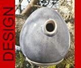 hochwertiges design Keramik Vogelhaus - Nistkasten -Tree Taubenblau