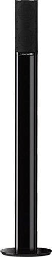 Harman/Kardon HTFS 2 B Aluminium Säulen-Standfuß mit (Kabelkanal (Paar), Höhe 876mm, kompatibel mit Satellitenlautsprechern aus Heimkino Lautsprechersystemen HKTS 9, HKTS 16 und HKS 4) schwarz