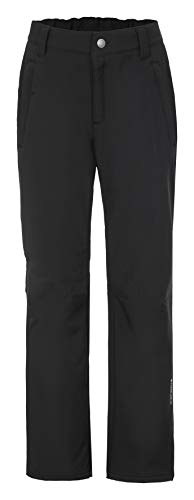 ICEPEAK Kinder Softshell Trousers Sal JR Hose, Schwarz, 140