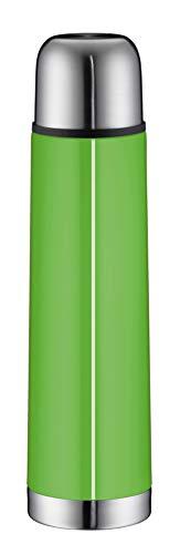 alfi 5457.282.075 Isolierflasche isoTherm Eco, Edelstahl Lime, 0,75 Liter, Drehverschluss, 12 Stunden heiß, 24 Stunden kalt, BPA-Free