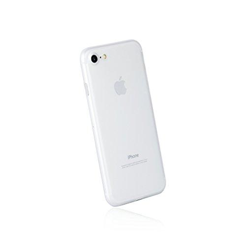 hardwrk ultra-slim Case für Apple iPhone 7 und 8 - matt klar - ultradünne Schutzhülle Handyhülle Cover Hülle - Unterstützt kabelloses Laden - Qi - Wireless Charging
