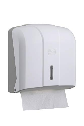 """CleanSV®"""" VIA - Katli-hw"""" Papierhandtuchspender Falthandtuchspender hochweiß, aus Kunststoff, für ZZ Handtuchpapier"""