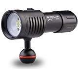 Evolva Future Technology D02 Scuba Diving Underwater 100M Video / Photography Light Torch