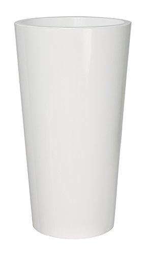 EURO3PLAST Pflanzenkübel Tuit, Durchmesser 40 x 75 cm, weiß